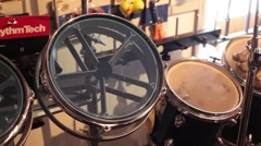 Static drum kit parts Stock Footage