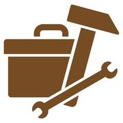 Toolbox Icon - stock illustration