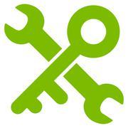 Key Tools Icon Stock Illustration