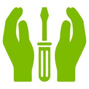 Tuning Service Icon - stock illustration