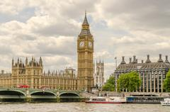 Palace of Westminster, Houses of Parliament, London - stock photo