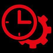 Time Setup Icon Stock Illustration