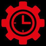 Time Setup Icon - stock illustration