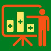 Stock Illustration of Medical Public Report Icon