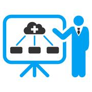Health Care Report Icon Stock Illustration