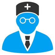 Main Physician Icon Stock Illustration