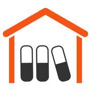Stock Illustration of Drugs Garage Icon