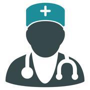Physician Icon - stock illustration