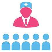 Medical Class Icon - stock illustration