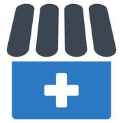 Drugstore Icon - stock illustration