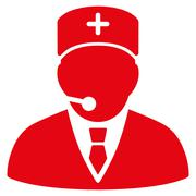 Medical Manager Icon - stock illustration