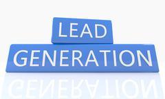 Stock Illustration of Lead Generation