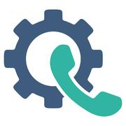 Phone Configuration Icon - stock illustration