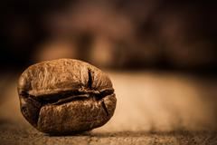 Coffee bean extremely close. - stock photo