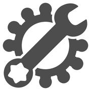 Service Tools Icon Stock Illustration