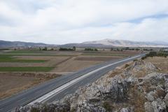 Stock Photo of road terrain