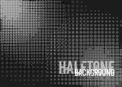 Halftone background with copy space. - stock illustration