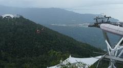 Langkawi, Malaysia Motion timelapse of Langkawi Skyway Stock Footage