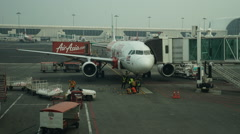 KLIA 2, Malaysia  Motion timelapse of air crew preparation Stock Footage