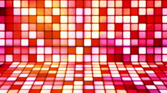 Broadcast Twinkling Hi-Tech Cubes Stage 05 - stock footage