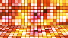 Broadcast Twinkling Hi-Tech Cubes Stage 06 - stock footage