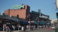 Shops at Fisherman's Wharf   Stock Footage