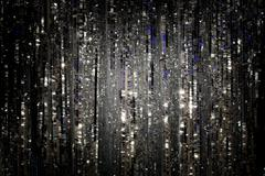 Glittery sparkle background - stock photo