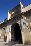 Door of the Mosque-cathedral of Cordoba, Andalucia,  Spain Stock Photos
