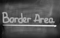 Stock Illustration of Border Area Concept