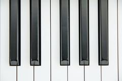Close-up of Piano Keyboard centred on Ab with plenty of white space - stock photo