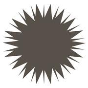 Microbe Spore Icon Stock Illustration