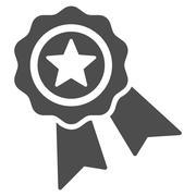 Quality Seal Icon - stock illustration