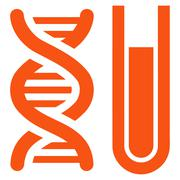 Genetic Analysis Icon Stock Illustration