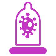 Infection Protection Icon Stock Illustration