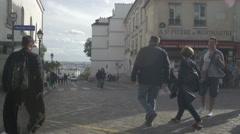 Paris Montmartre  Stock Footage