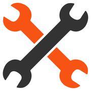 Wrenches Icon Stock Illustration