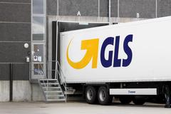 GLS logistic center - stock photo