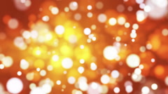 Broadcast Light Bokeh, Golden, Events, Loopable, HD Stock Footage
