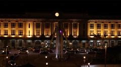 Penn Station Night Timelapse Stock Footage