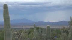 HD ultra slow motion desert mountain daytime lightning strikes 3 Stock Footage