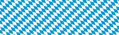 Bavarian Diamond Pattern Texture Panorama - Rhombus - stock illustration