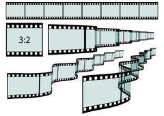 Classis Film Strip - Format 3:2 - stock illustration