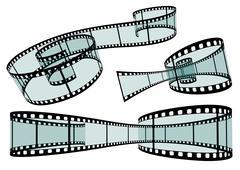 Classis Film Strip - Format 3:2 - Vector - stock illustration