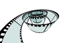 Classis Film Strip - Format 3:2 Stock Illustration