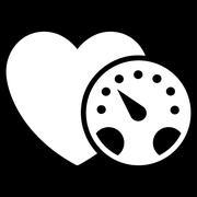 Blood Pressure Meter Icon - stock illustration