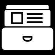 Catalog Icon - stock illustration