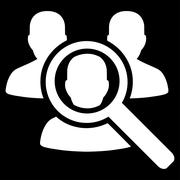 Search Patient Icon - stock illustration