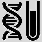 Stock Illustration of Genetic Analysis Icon