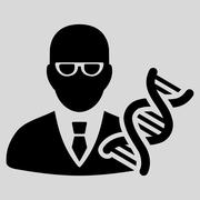 Stock Illustration of Genetic Engineer Icon