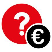 Stock Illustration of Euro Balance Query Icon
